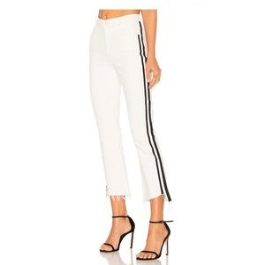 NWT MOTHER The Insider Crop Step Frayed Jeans